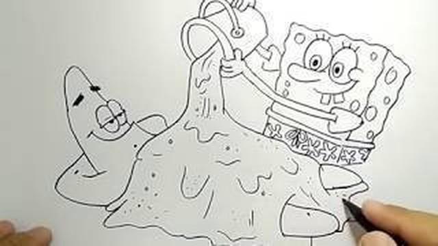 Streaming Cara Menggambar Spongebob Dan Patrick How To Draw Spongebob And Patrick Vidio Com