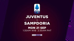 Juventus vs Sampdoria - Senin, 21 September 2020 | Serie A 2020