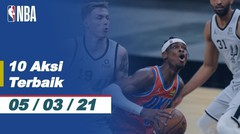 Top 10 | Aksi Terbaik - 5 Maret 2021 | NBA Regular Season 2020/21
