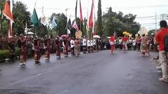 Parade Budaya Hut Kota Singaraja Ke - 413 Kecamatan Gerokgak