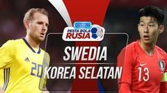 Gol Full Time Swedia VS KORSEL Di Piala Dunia 2018