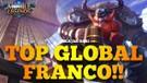 SOLO RANKED FRANCO GA MATI MATI MALAH MVP BELAJAR DARI TOP GLOBAL