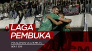 Highlights Liga 1 2019, PSS Sleman Vs Arema FC 3-1
