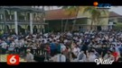 Ribuan Santri Iringi Pemakaman KH. Abdullah Syukri