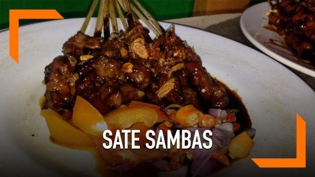 Video Sate Sambas Haji Rofii Legendaris Sejak 1974