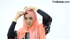 Tutorial Hijab Untuk Membuat Wajah Terlihat Tirus
