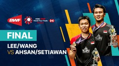 Full Match | Lee Yang/Wang Chi-Lin (Chinese Taipei) 2 vs 0 Mohammad Ahsan/Hendra Setiawan (Indonesia) | BWF World Tour Finals 2021