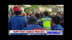 Dump Truck Tabrak Truck Box