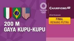Full Match   Renang Gaya Kupu-Kupu 200m Putra   Olimpiade Tokyo 2020