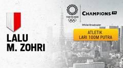 Full Match | Atletik - Lari 100m Putra Putaran 1 | Olimpiade Tokyo 2020