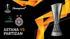 Full Match - Astana Vs Partizan | UEFA Europa League 2019/20