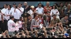 Begini Suasana Jokowi Resmikan MRT Fase 1