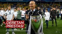 Digosipkan Gantikan Ole Gunnar Solskjaer di Manchester United, Berikut Deretan Prestasi Zinedine Zidane Sebagai Manajer