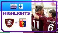 Match Highlights | Salernitana 1 vs 0 Genoa | Serie A 2021/2022