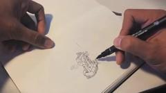 """Doodling """"Mini Mad Max"""""""