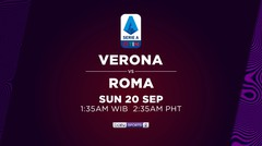 Verona vs Roma - Minggu, 20 September 2020 | Serie A 2020
