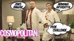 Abimana dan Joko Anwar Lakukan 'Pose Challenge'