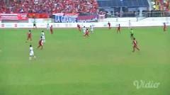 Football INA vs. MYR - Gol Pertama Myanmar