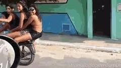 Video Lucu Banget jatuh dari montor