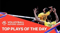 Top Plays of the Day   VNL MEN'S 27/06/2021