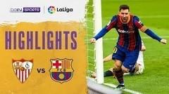 Match Highlights | Sevilla 0 vs 2 Barcelona | La Liga Santander 2021