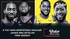 5 Tim yang Berpotensi Menjadi Juara NBA Setelah Free Agency