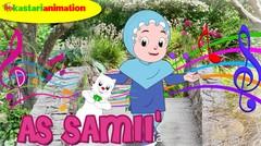 AS SAMII' |  Lagu Asmaul Husna Seri 3 Bersama Diva | Kastari Animation