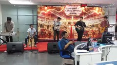 The Weeknd - Cant Feel My Face cover by LUNA - Live performance at Jawa Pos 15 Dec 2015