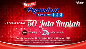 Audisi Jingle Pepsodent 123