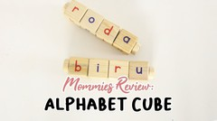 Mommies Review Alphabet Cube