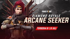 Diamond Royale Terbaru! Arcane Seeker Siap Booyah Bareng Kamu!