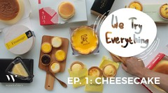 We Try Everything : Best Japanese Cheesecake in Jakarta