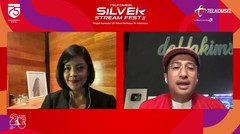 Lucy Wiryono & Irfan Hakim - Pandemiculinary | Talkshow | Telkomsel Silver Stream Fest 2020