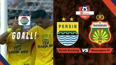 GOOLLL!!! Sundulan melintir Jajang Mulyana Membuat Bhayangkara FC Unggul