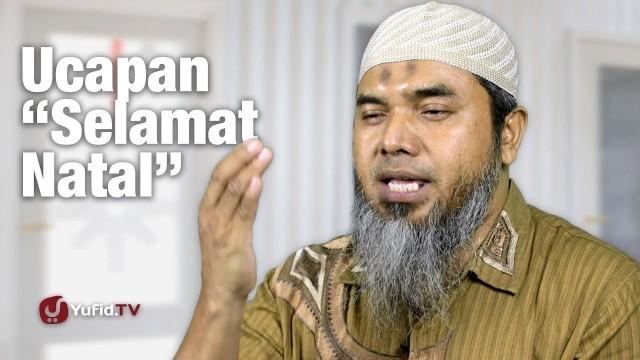 Streaming Ucapan Selamat Natal - Ustadz Afifi Abdul Wadud ...