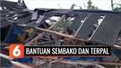 BPBD Sukabumi Salurkan Bantuan Sembako untuk Warga Terdampak Puting Beliung | Liputan 6