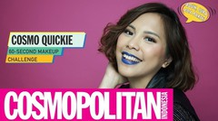 Cosmo Quickie: 60-Seconds Party Ready Makeup Challenge | Cosmopolitan Indonesia