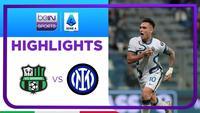 Match Highlights | Sassuolo 1 vs 2 Inter Milan | Serie A 2021/2022