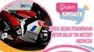 Keren! Begini Penampakan Motor Balap Tim Motogp Indonesia