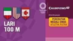 Full Match | Atletik - Perebutan Medali Emas Lari 100m Putra | Olimpiade Tokyo 2020