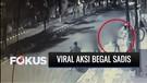 Viral Aksi Begal Bersenjata Tajam Sasar Pejalan Kaki di Jakarta