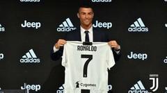 Hari Pertama Cristiano Ronaldo di Juventus