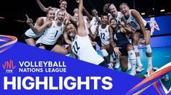Match Highlight | Semi Final | VNL WOMEN'S - USA 3 vs 0 Turkey | Volleyball Nations League 2021