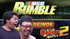 Nascar & Digimon Rumble Arena 2 (HABIS BEDUG)
