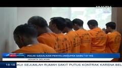 Polisi Gagalkan Penyelundupan Sabu 137 Kg