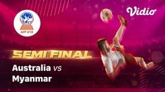Full Match - Australia vs Myanmar   Piala AFF U-18 2019