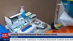 Vaksin Tak Serta Merta Hilangkan Pandemi