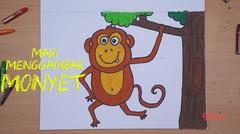 Mari Menggambar - Monyet