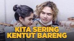 Sudah Nyaman, Dul & Tissa Biani Jadi Diri Sendiri