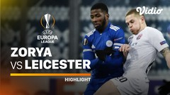 Highlight - Zorya Luhansk vs Leicester City I UEFA Europa League 2020/2021